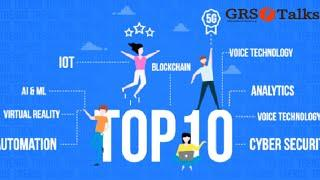 Top 10 Technologies To Learn In 2020   Trending Technologies In 2020   Grstalks