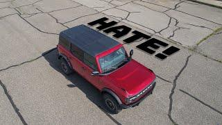 10 Things I HATE about the new Bronco!