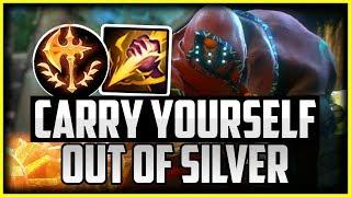 Carry Yourself Out Of LOW ELO   How to Carry Your Team With Jax Jungle Season 10 League of Legends