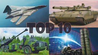 Top 10 Tanks, Self Propelled Howitzers, Fighter Jets, Anti Aircraft Missile Systems