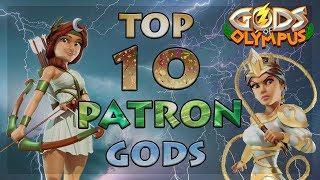 Top 10 Patron Gods 2020 | Gods Of Olympus