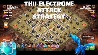 TH11 CLONE spell Attack Strategy | TH11 Electrone Attack Strategy | TH11 War Attacks