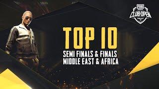 [TOP 10] PMCO Middle East & Africa Semi Finals & Finals   Spring Split   PUBG MOBILE CLUB OPEN 2020