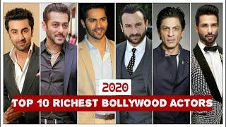 Top 10 rich bollywood actor    Top rich bollywood actors    2020    Watch number 1