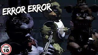 Top 10 Scary FNAF Glitches