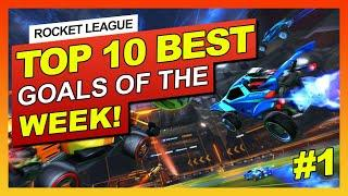 ROCKET LEAGUE PLAYERS ARE NUTS! - TOP 10 BEST GOALS OF THE WEEK! #1 (This guy hits 3 flip resets!)