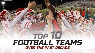 Top 10 Football Teams Over the Past Decade