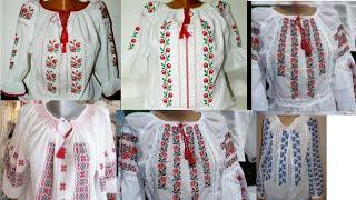 Most Beautiful and easy Cross Stitch Embroidery top designs | Hand Embroidery Unique Top Designs