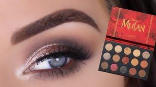 ColourPop Disney Mulan Eyeshadow Palette | Glam Eye Makeup Tutorial