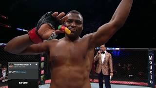 UFC 249: Francis Ngannou Octagon Interview