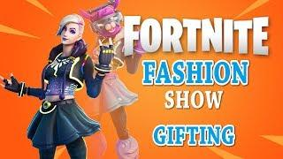 FORTNITE FASHION SHOW LIVE SKIN COMPETITION! BEST COMBO WINS! SIMON SAYS! 2020 GIFTING