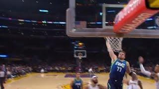 #Luka #Doncic #Dunk Luka Doncic Dunk with authority against Los Angeles Lakers