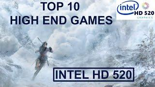 TOP 10 High End Games for the Intel HD 520