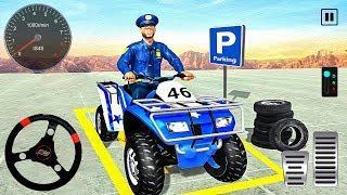 Advance Police Quad Bike Parking - 4x4 ATV Bike - Android Gameplay