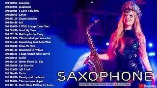 Top 40 Saxophone Cover Popular Songs - Best Instrumental Saxophone Covers 2020