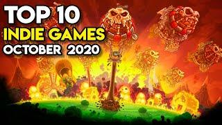 Top 10 Indie Games of October 2020 on Steam (Part 1)
