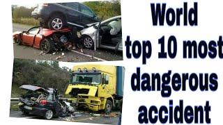 Top 10 dangerous accidents in world | 10 katarnak accident | Dangerous driving | information tv