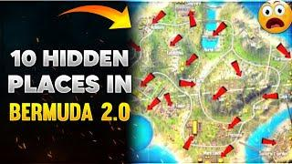 Top 10 Hidden Places In Bermuda Remastered | Top Places to hide in Bermuda 2.0