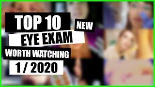 ASMR / EYE EXAM (Face Touching, Eye Cleaning, Medical Exam) / TOP 10 / 1/2020 / ASMR Charts