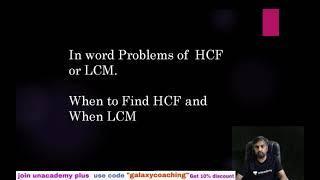 HCF LCM word problems class 10 maths