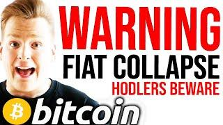 WARNING!! FIAT COLLAPSING EVEN FASTER!!! Leaked Data, BITCOIN Breaking Out - Programmer explains