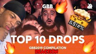 TOP 10 DROPS Grand Beatbox Battle Solo 2019 | FIRST TIME LISTENING TO BEATBOX Reaction By TTMiles