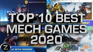 TOP 10 Best Mech GAMES 2020