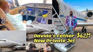 Inside Davido's Father New $62M Private Jet - Worth.