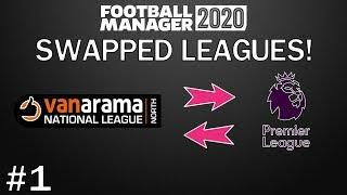 FM20 Experiment: What If You SWAPPED England's Top and Bottom League? Football Manager 2020 - PART 1