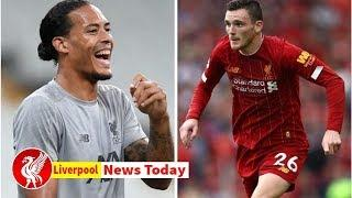 Virgil van Dijk mocks Andy Robertson as the worst Liverpool star at one thing- Liverpool news tod...