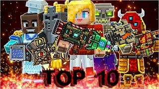 Pixel Gun 3D - Top 10 Most Popular Heavy Weapons by subscribers (Month 2)