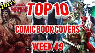 Top 10 Comic Book Covers | Week 49