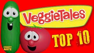 Top 10 Veggie Tales of All Time (feat. Crazy Nate)