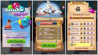 New Coin Master Event - Sail the Seas / 10 Point Symbols / Spin Tournament