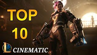 TOP 10 Best Cinematic in League of Legends on 10 Years