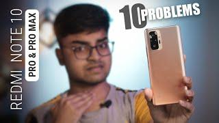 Redmi Note 10 Pro Problems & Bugs | Top 10 Bugs