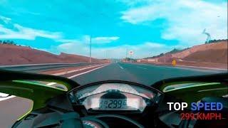FASTEST BIKE IN KAWASAKI LINE UP 2020 TOP SPEED | NINJA 1000 | ZX10R | ZX14R |  H2R | WORLD RECORD