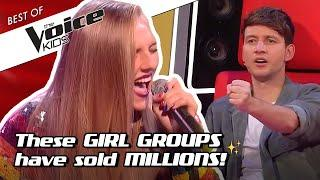 TOP 10 | The BIGGEST GIRL GROUPS covered in The Voice Kids!