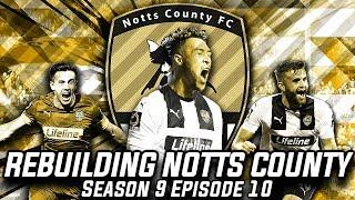 Rebuilding Notts County - S9-E10 Europa Semi Finals!   Football Manager 2020