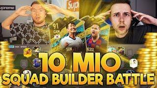 FIFA 20: 10 MIO COINS SQUAD BUILDER BATTLE vs GAMERBROTHER