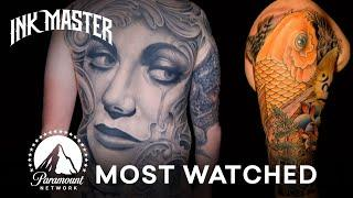 Top 5 Most-Watched August Videos | Ink Master
