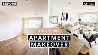 EXTREME APARTMENT MAKEOVER - From Start to Finish!!