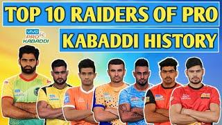 Top 10 Raiders With Most Raid Points In Pro Kabaddi History
