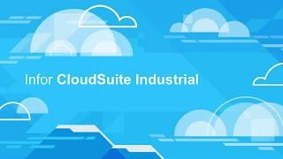 CloudSuite Industrial Customer Service and CTP (Capable To Promise) Demo