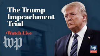 Impeachment trial of President Trump | Jan. 31, 2020 (FULL LIVE STREAM)