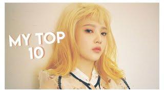 My top 10 favorite kpop group songs