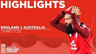 England v Australia - Highlights | Australia Squeeze To Consolation Win | 3rd Vitality IT20 2020