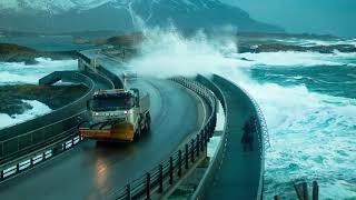 Top 10 most dangerous roads in the world, scary road.
