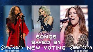 Top 30 Songs Saved By New Voting System | Eurovision Song Contest [2016-2021]