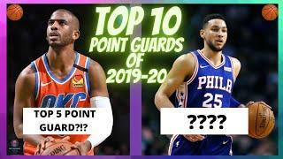 TOP 10 POINT GUARDS of the 2019 20 NBA season